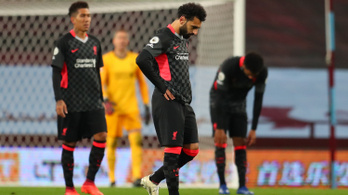 Tönkreverte a bajnok Liverpoolt az Aston Villa