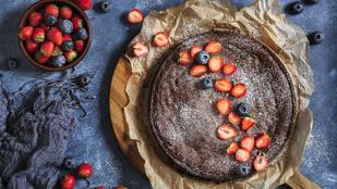 Torta tenerina – egy kis eperrel vagy fügével még finomabb!