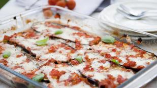 Padlizsán olasz hangulatban – a pizza ízei szinte szénhidrátmentesen