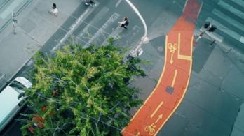 Autós-bringás-gyalogos kalamajkák a Nagykörúton