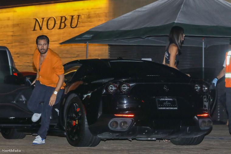 Na de Sofia Richie már a múlté, Scott Disick a Nobu étterembe hozta el az új nőjét egy Ferrarival