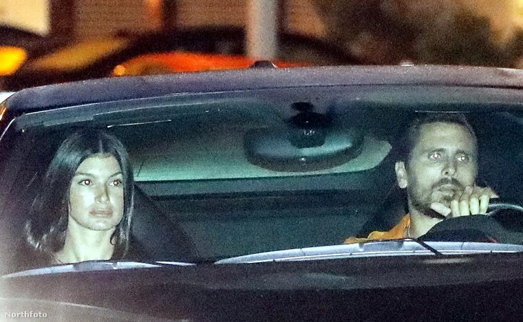 Ezen a képen Scott Disick és új nője látható, akik egy picit félresikerült randin voltak október elsején, pedig a realitysztár nagyon ki akart tenni magáért a menő étteremmel és méregdrága sportkocsival