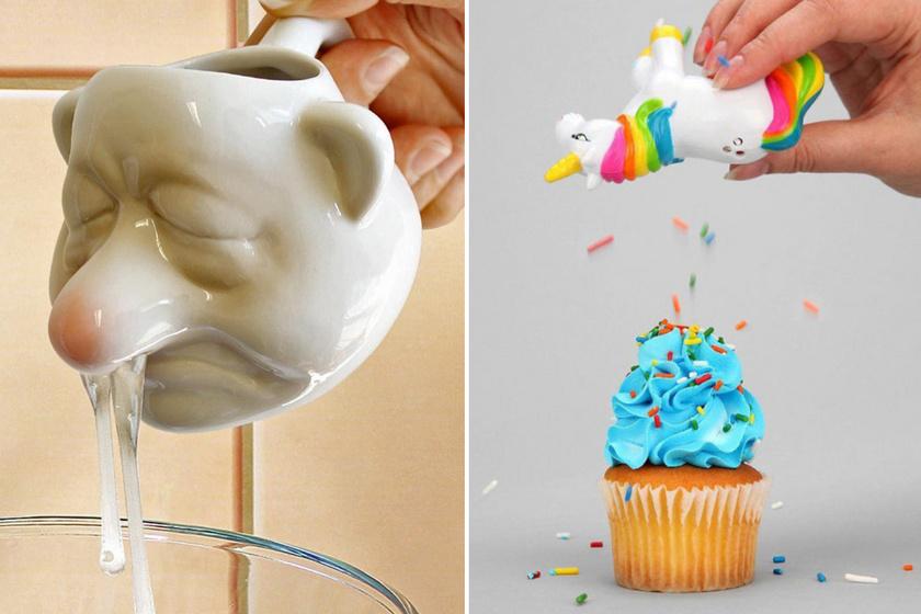 Ilyen pihent agyú tojásszétválasztót még nem láttál: 8 igazán vicces konyhai eszköz