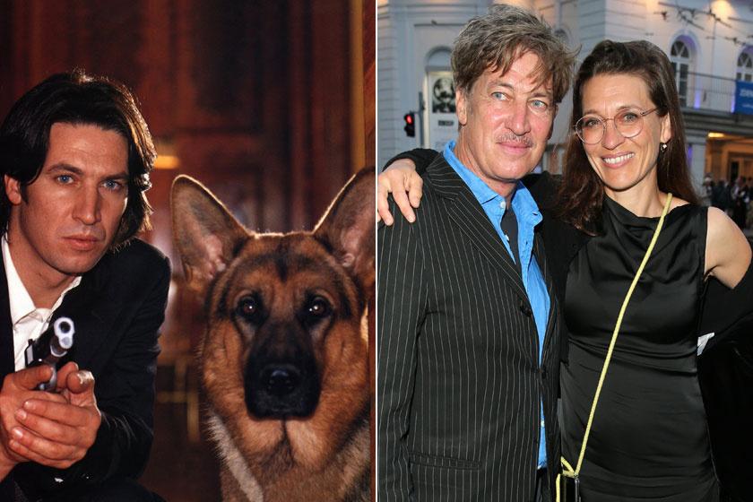 A 61 éves Tobias Moretti sokat változott, a jobb oldali képen feleségével látható.