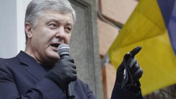 Tüdőgyulladással került kórházba Petro Porosenko