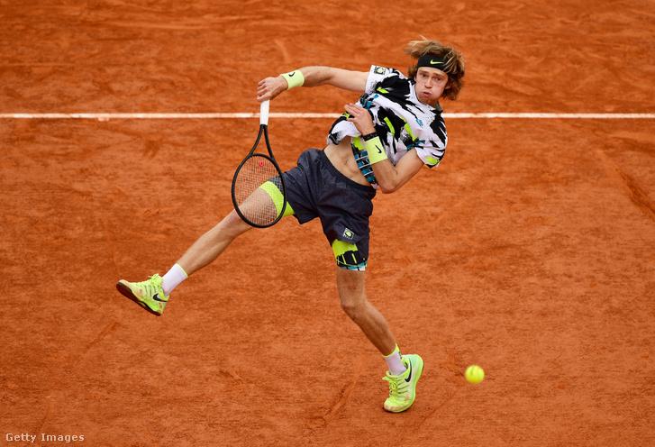 Andrej Rubljov először negyeddöntős a Roland Garroson