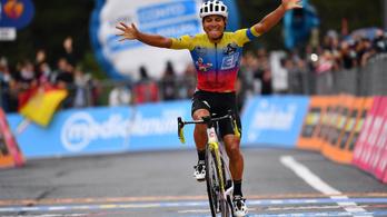 Valter Attila 49. a Giro harmadik szakaszán