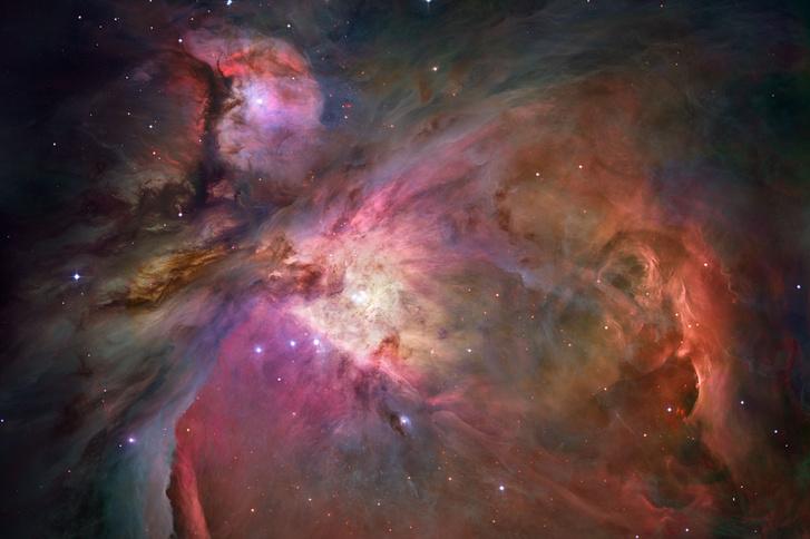 Orion köd a Hubble űrteleszkóp szemével
