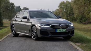 BMW 5 LCI – 2020.