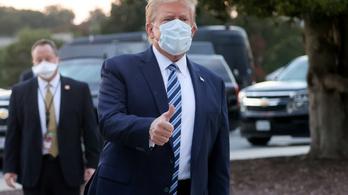 Donald Trump elhagyta a kórházat – sok a kérdőjel