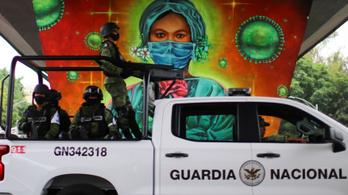 Egy nap alatt 28 ezer Covid-fertőzöttet regisztráltak Mexikóban