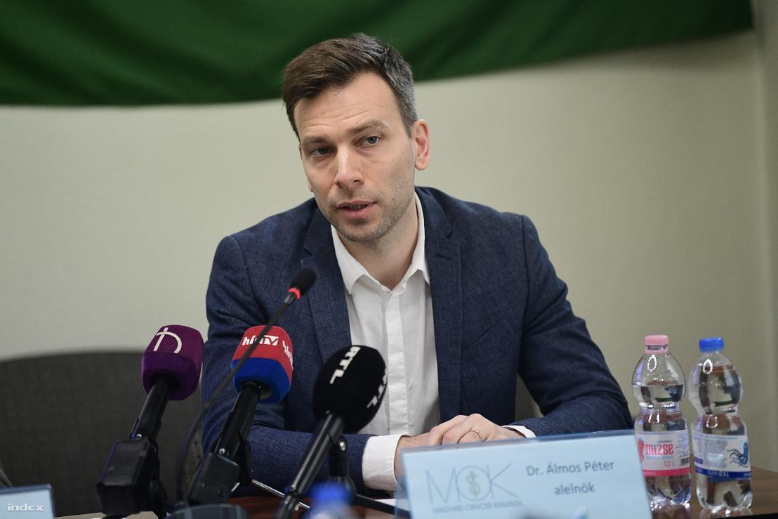 Dr. Álmos Péter, a Magyar Orvosi Kamara alelnöke