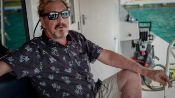 Adócsalás miatt letartóztatták az antivírusprogram kitalálóját, John McAfeet