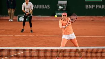 A Roland Garros elődöntőjében a Babos, Mladenovic páros