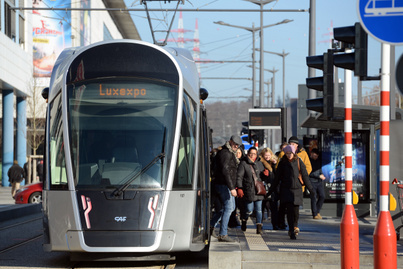 luxemburg közlekedők