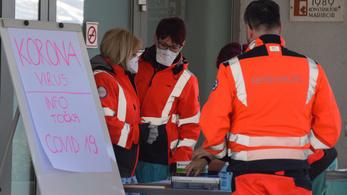 Egyre több beteget ápolnak kórházban Horvátországban és Szlovéniában