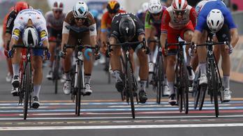 Célfotó döntött a Giro negyedik szakaszán