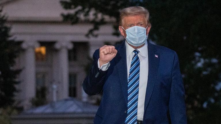 Donald Trump: Meg kell tanulnunk együtt élni a koronavírussal