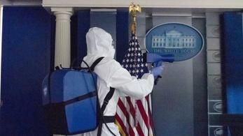 Járvány tört ki a Fehér Házban