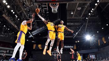 Ami itt becsorgott, az ott kiperdült – egy lépésre a bajnoki címtől a Lakers