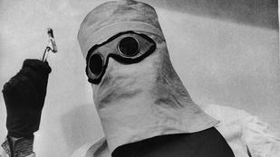 Testére kötözte a sugárzó anyagot, hogy a betegeket legyen mivel gyógyítani