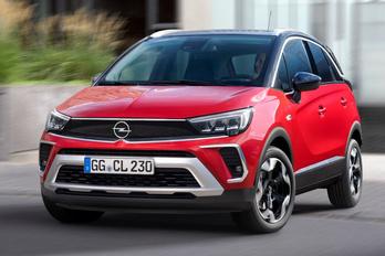 A Mokka orrát kapja az Opel Crossland