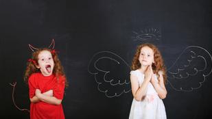 A gyerek mindenhol egy angyal, otthon igazi ördög. Miért?