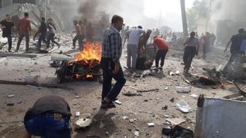 17-re emelkedett a szíriai bombarobbanás áldozatainak a száma