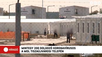 Elkapták a koronavírust a Mol-üzem építőmunkásai, rendőrök őrzik a miskolci karanténhotelt