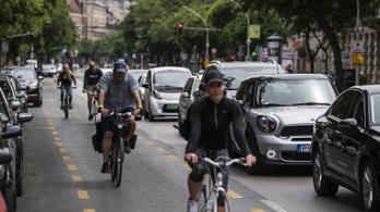 Még soha ennyien nem bicikliztek Budapesten