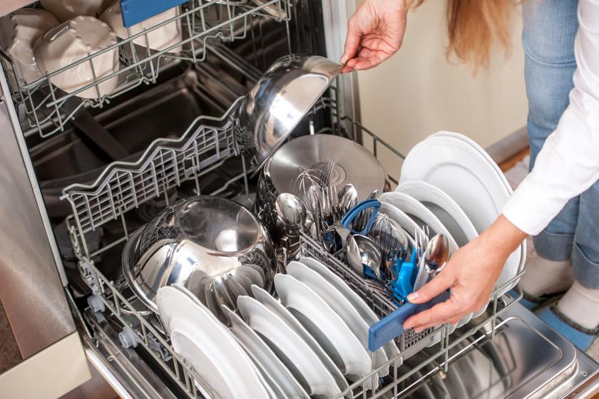 mosogatógép bepakolás belső