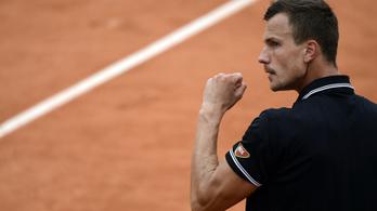 Fucsovics Márton: Soha rosszabb Grand Slam-idényt