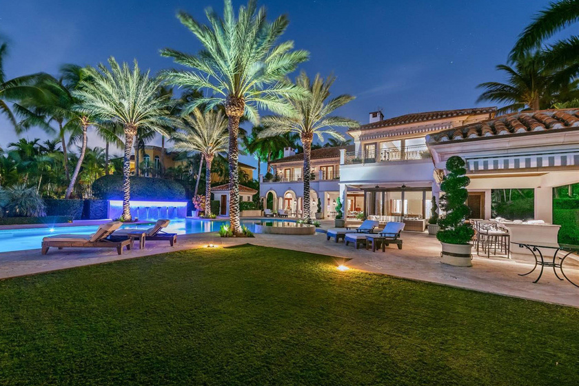 Íme, a Lopez-Rodriguez rezidencia. Nem egy tipikus miami luxusház: árad belőle J. Lo stílusa.