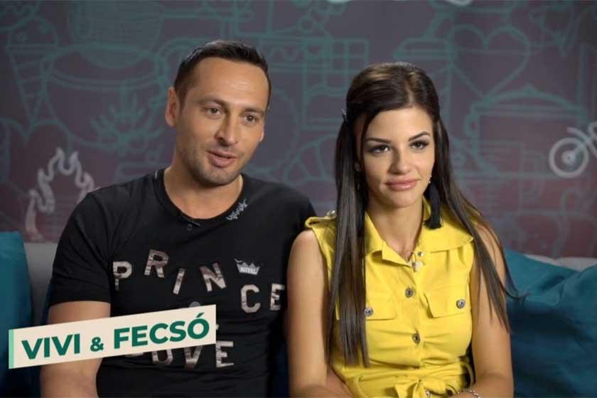 A TV2 augusztus 24-én indult Love Bistro című gasztro-reality műsorának felvételein még együtt voltak.