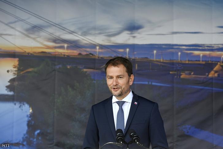 Igor Matovič szlovák kormányfő