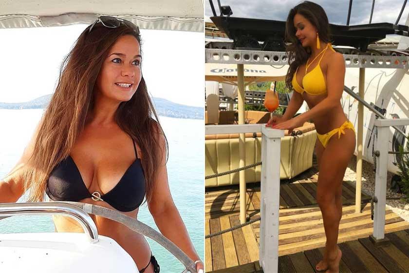 A sárga bikinis fotójára azt írták az Instagramon, hogy úgy néz ki rajta, mint egy húszéves.