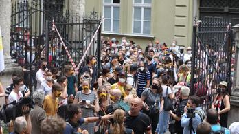 Az SZFE-s hallgatók 95 százaléka illegitimnek tartja a Vidnyánszky-féle kuratóriumot