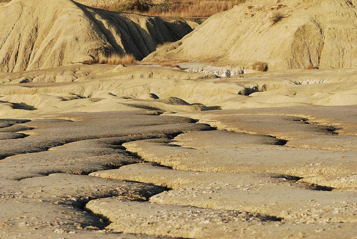 A Pâclele Mari iszapvulkáni terület közepét uraló nagy méretű iszapvulkán