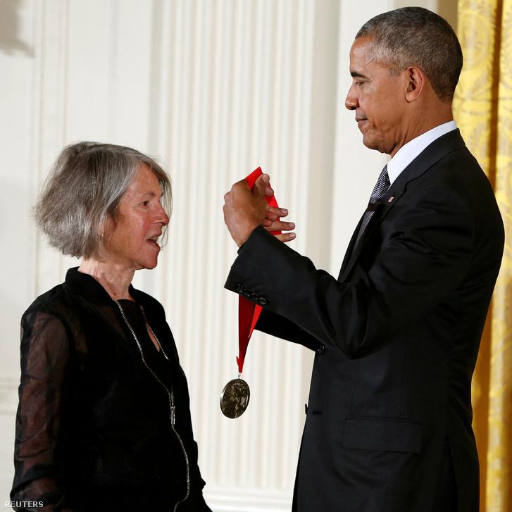 Barack Obama 2015-ben átadja a National Humanities-díjat