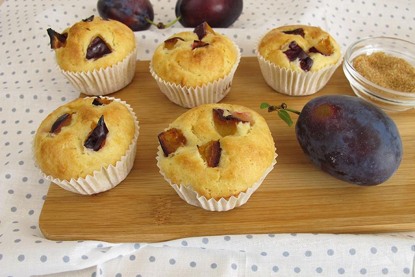 Pihe-puha szilvás, fahéjas muffin: a tészta másnapra is omlós marad