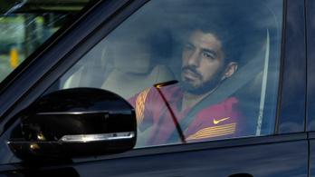 Suárez napokig sírt, miután a Barcelona elküldte