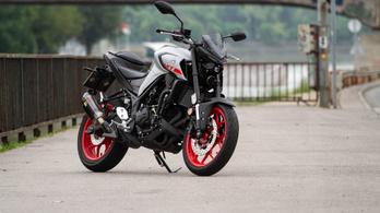 Teszt: Yamaha MT-03 - 2020.