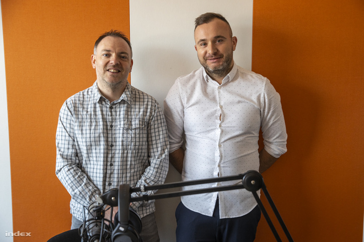 Pintér László és Bodnár Gergő, az Eurosport kommentátorai