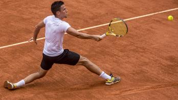 Balázs Attila idén már nem teniszezik