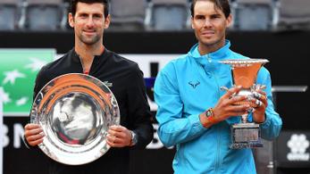 Nadal–Djokovics döntő lesz a Roland Garroson