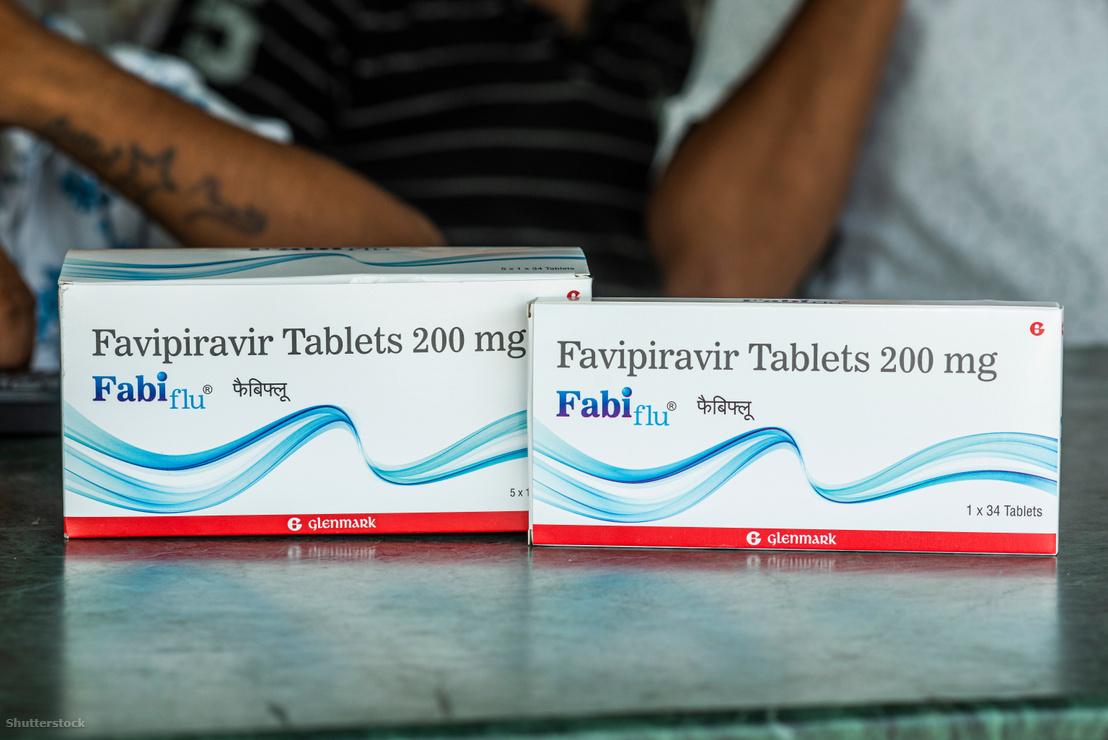 Favipiravir tabletta Indiában