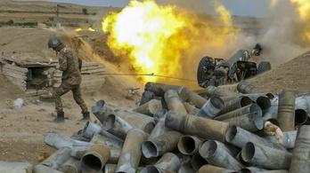 Hiába a tűzszünet, folytatódnak a harcok Azerbajdzsán és Örményország között