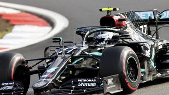 Valtteri Bottas nyerte az időmérőt a Nürburgringen