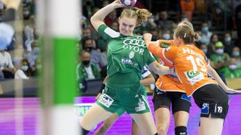 Magabiztosan nyert a Győr a női kézilabda-BL-ben