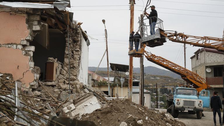 Folyamatosan megsértik Hegyi-Karabahban a tűzszünet feltételeit